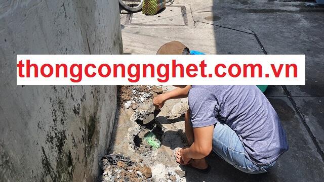 Quy trình tiếp nhận và triển khai thông cống nghẹt phường 3 tại Hoàng Long