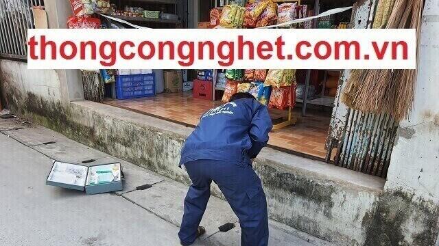 Quy trình thực hiện thông nghẹt cống tại TP Quảng Nam.
