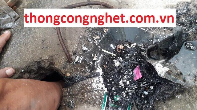 Nguyên nhân chính gây ra tình trạng nghẹt cống tại Quảng Nam.