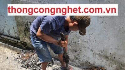 Công ty thông tắc cống Nghệ An giá rẻ 500K, Bảo Hành 2 Tháng