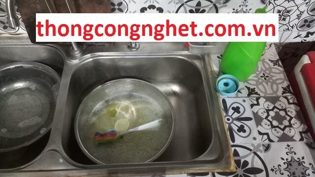 Nguyên nhân dẫn đến bồn rửa chén thoát nước chậm
