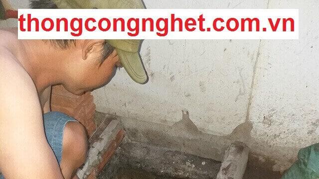Các dịch vụ thông cống nghẹt giá rẻ tại Huyện Cần Guộc.