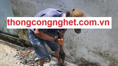 Thông cống nghẹt tại Quảng Bình giá 500k, bảo hành miễn phí