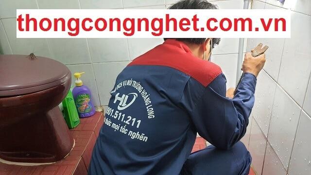 Tại sao bạn chọn dịch vụ thông cống tại Thừa Thiên Huế của Hoàng Long