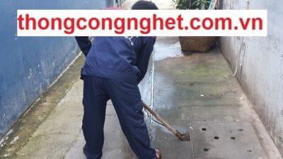 Thông cống nghẹt Huyện Tri Tôn An Giang giá rẻ chỉ từ 500k