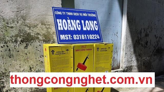 Quy trình thực hiện thông nghẹt cống tại Lâm Đồng.
