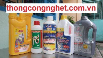 hóa chất thông cống dầu mỡ